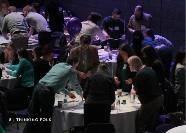Image courtesy of So Say Scotland, 2013 'Thinking Together Citizens' Assembly' in Glasgow